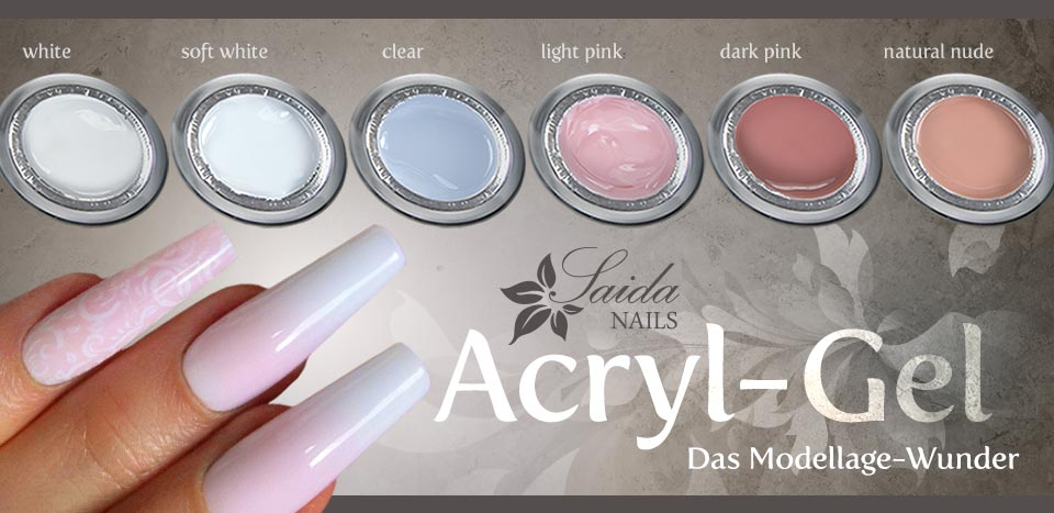 Acryl-Gele von Saida Nails