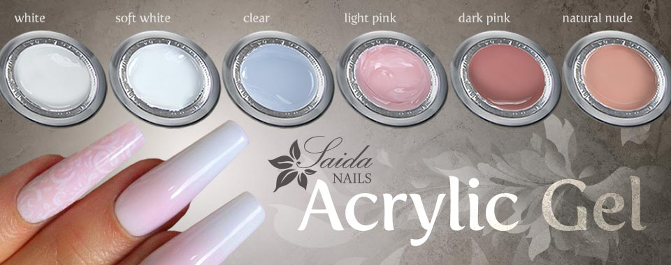 Acrylic Gels from Saida Nails