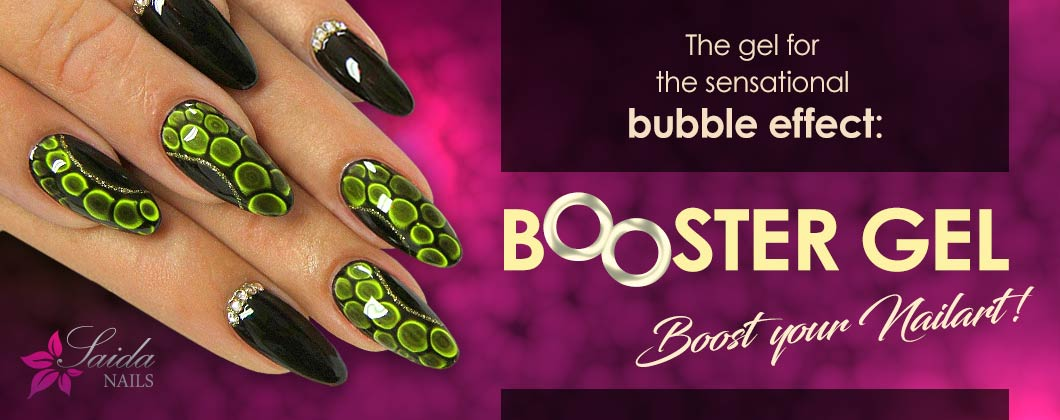 Booster Gel for Nail Art Bubble Effect