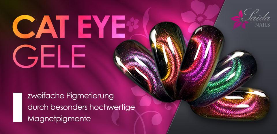 doppelt pigmentierte Cat Eye Magnetgele für einzigartige Nailart