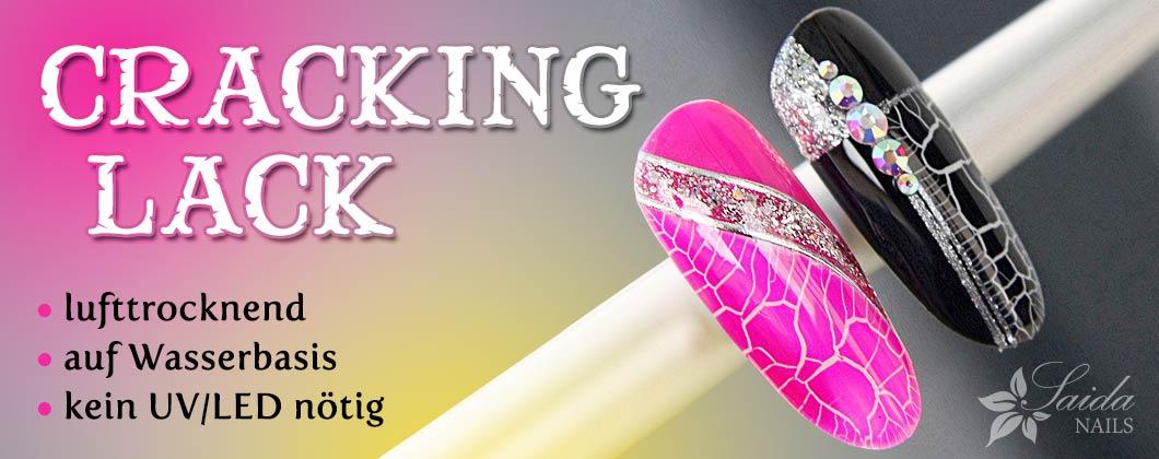lufttrocknender Cracking Lack von Saida Nails