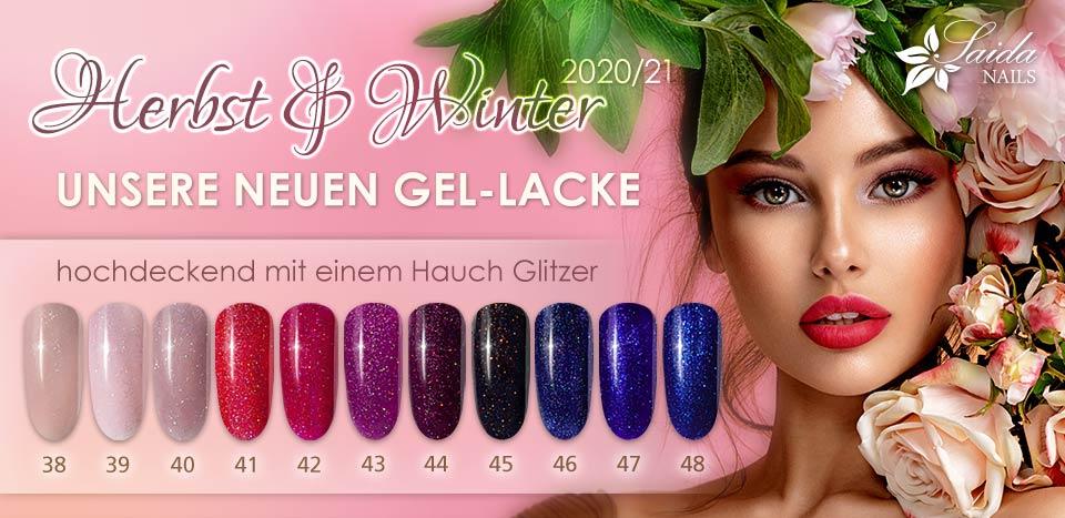 Unsere neuen Gel-Lacke Herbst/Winter 2020/21