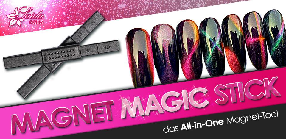 Magnet Magic Stick für Nailart mit Cat Eye Gelen