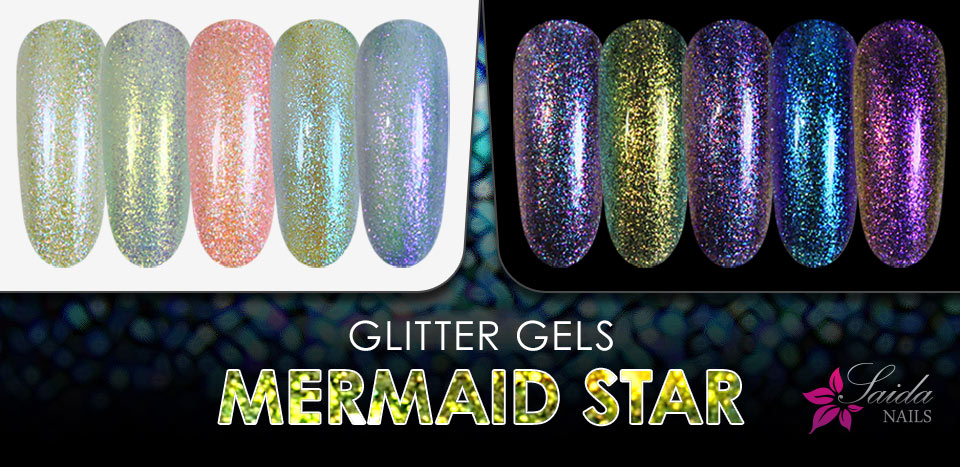 The summer hit - MERMAID STAR glitter gel