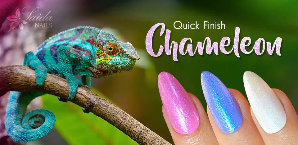 Abschlussgele Quick Finish Chameleon