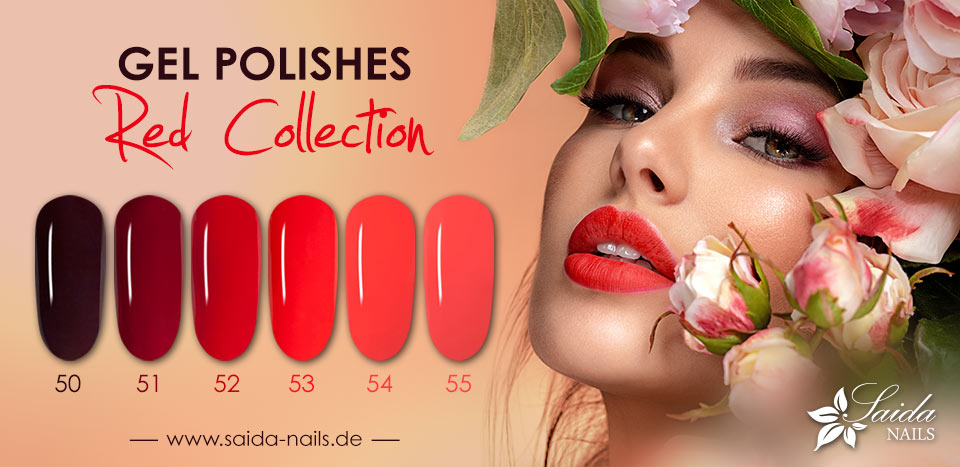 Gel Polish - Red Collection 2021