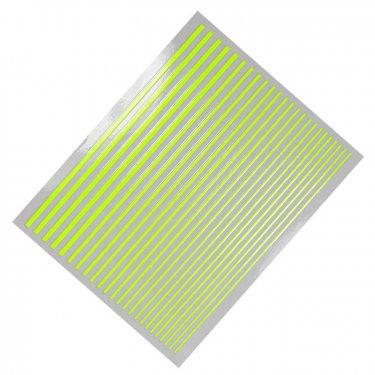 Flexible Stripes, neon yellow