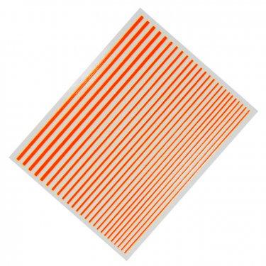 Flexible Stripes, neon orange