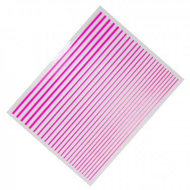 Flexible Stripes, neon pink