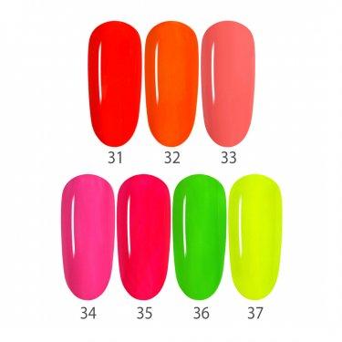Set NEON, 7 Farben 31-37