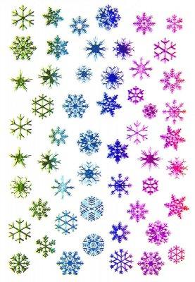 Sticker Rainbow CHRISTMAS 1