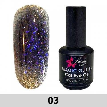 Magic Glitter Cat Eye Gel 03