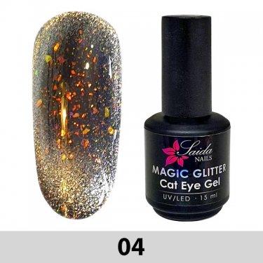 Magic Glitter Cat Eye Gel 04