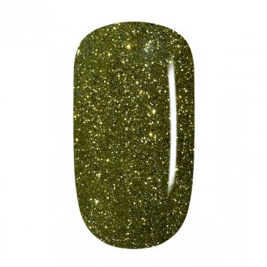Color Gel - 09 Olive Gold Glitter, fine