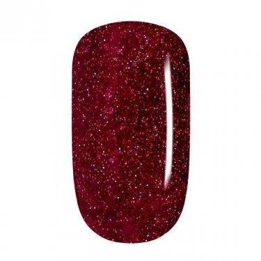Color Gel - 80 Dark Red-Silver Glitter, fine