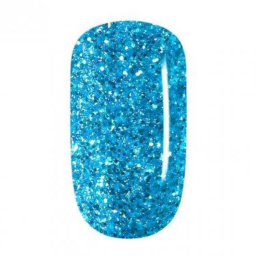 Color Gel - 71 Sky Blue Glitter, coarse