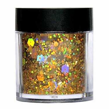 Laser Glitter Mix - GOLD