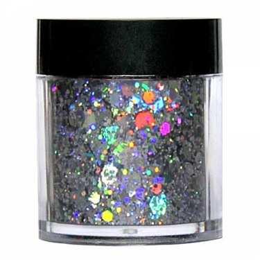 Laser Glitter Mix - SILBER