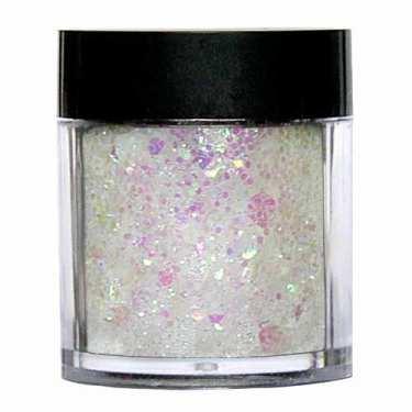 Laser Glitter Mix - WEISS