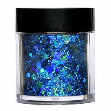 Laser Glitter Mix - TÜRKIS