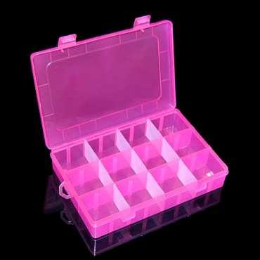 Aufbewahrungsbox, pink