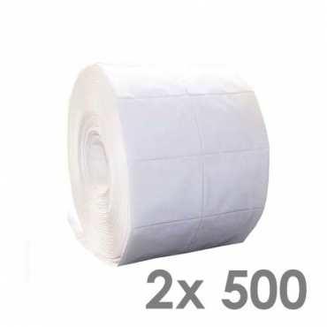 Zelletten (2x 500 Stck.), 100% fusselfrei, reißfest