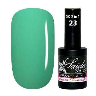 Gel Polish 2 in 1 - 23 Turquiose Green