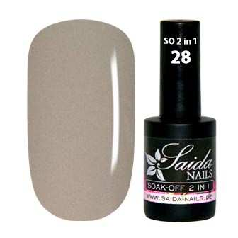 Soak-Off Gel 2 in 1 - 28 Light Skin
