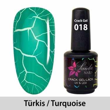 Crack Gel Polish - 018 Turquoise