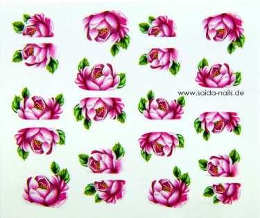 Sticker Pink Rose