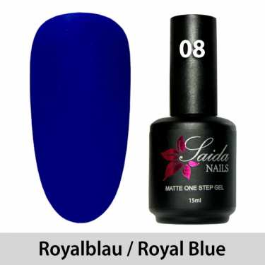 LED One Step Matte Gel 08 ROYALBLAU