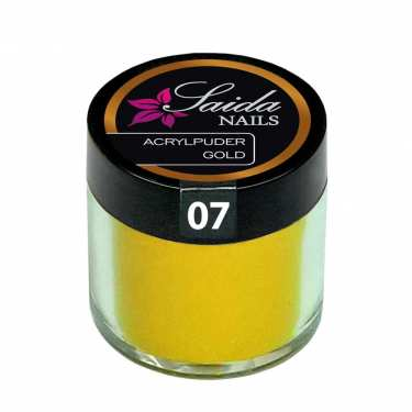Acrylpuder 07 GOLD, 10 g