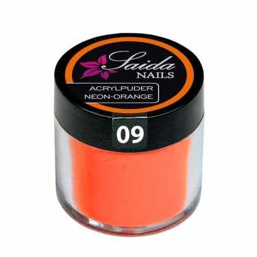 Acrylpuder 09 NEON-ORANGE, 10 g