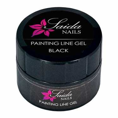 Painting Line Gel - black