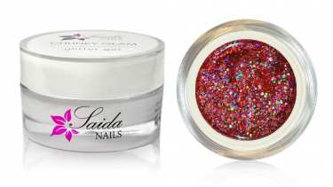 CHUNKY GLAM 08 - Laser Pink-Silber, 15 ml