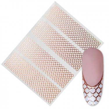 Flexible Net, rose gold