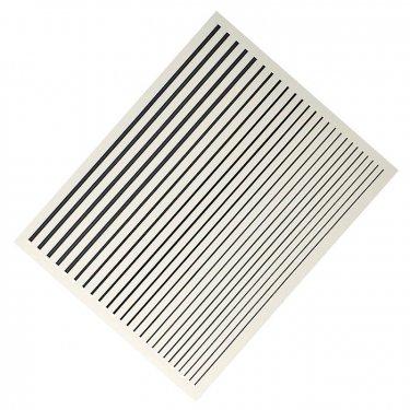 Flexible Stripes, black