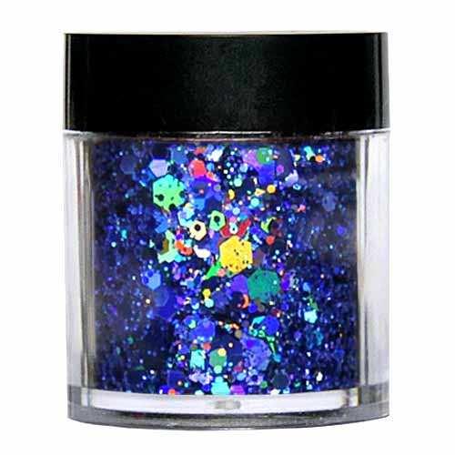 Laser Glitter Mix - BLAU