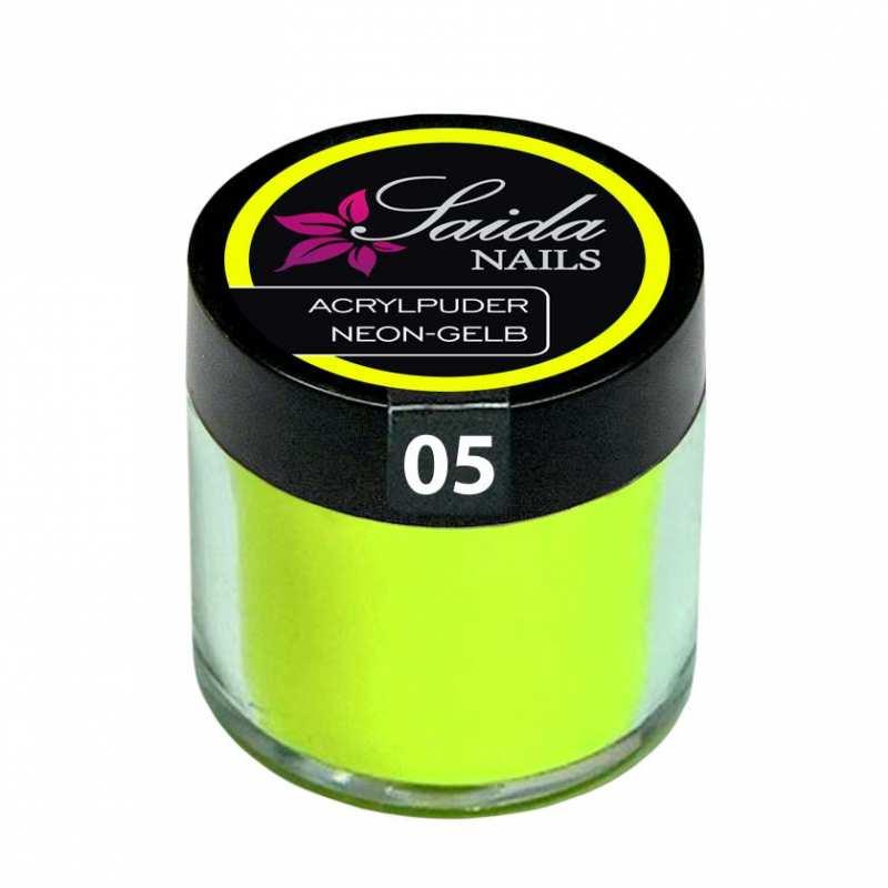 Acrylic Powder 05 NEON YELLOW, 10 g
