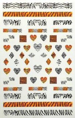 Sticker Animal Print 1