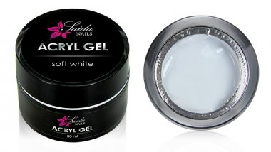 Acrylic Gel SOFT WHITE, 30 ml