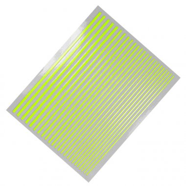 Flexible Stripes, Neon-Gelb