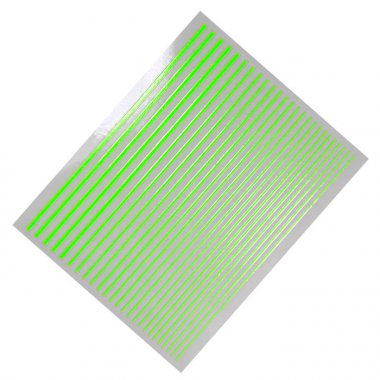 Flexible Stripes, Neon-Grün