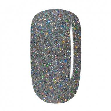 Colorgel - 12 Silber Multicolor Glitzer, fein