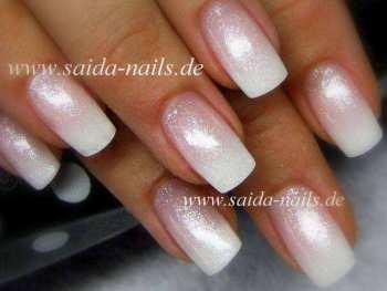 Colorgel - 75 Weiß-Silber Glitzer, extrafein