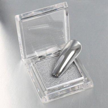 Kompaktes ChromPuder 01 Silber