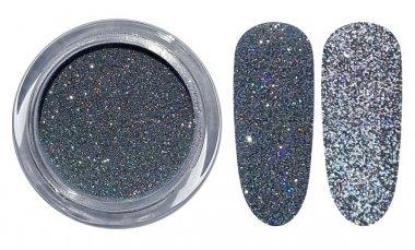Licht reflektierender Glitter - 01 Silber