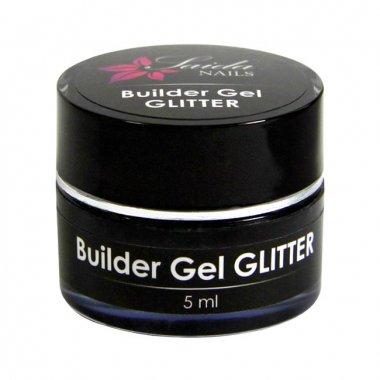 Builder Gel Glitter Nr 03 Turquoise, SAMPLE, 5 ml