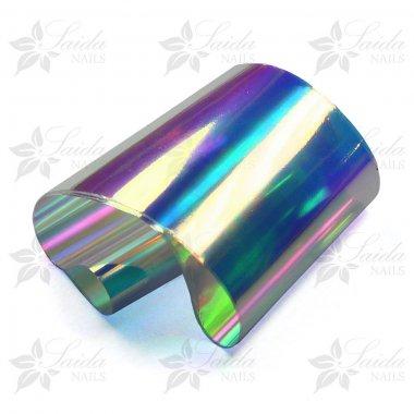 Aurora Foil 04, BLUE-PINK