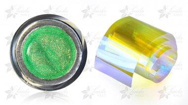 Aurora-Nails Set 02 GRÜN-GOLD